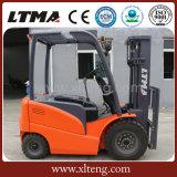Ltma 1.5 toneladas preço elétrico pequeno do caminhão de Forklift de 2 toneladas