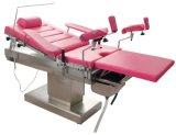 Таблица электрического приёмного стола гинекологическая