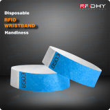 Wristband descartável do uso One-Time RFID para o hospital