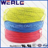 UL 3122 alta temperatura fio de borracha de silicone com isolamento de fibra de vidro trançado
