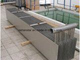 De Koeler van het water, de Roestvrij staal Gelaste Warmtewisselaar van Plaat 316