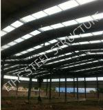 プレハブの工業デザインの鉄骨フレームの倉庫