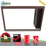 Double porte se pliante en plastique de guichet du vitrage UPVC/PVC d'anti vol