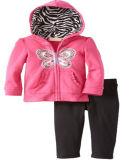 羊毛は子供の女の子のスポーツ・ウェアのスーツを「sの衣服Swg133からかう