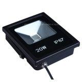 El blanco fresco IP67 de la luz de la aleación de aluminio impermeabiliza el reflector al aire libre de la iluminación LED 20W
