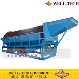 Machine d'écran de tambour d'équipement minier de sable de fleuve