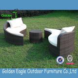 O sofá moderno do jardim ajustou-se com coxim confortável (GE-S0006)