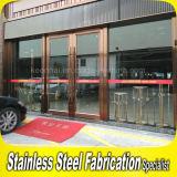 商業ステンレス鋼のガラスドアおよびWindows
