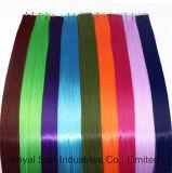 Heiße verkaufenjungfrau Remy nahtloses Haut-Haar-einschlagband-Haar-Extension