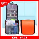 (KL035) Les sacs cosmétiques en nylon de mode faite sur commande imperméabilisent des sacs de toilette de course