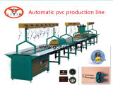Gotejamento macio automático da correção de programa do logotipo do PVC que faz a máquina