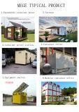 Het vlakke Huis van de Container van het Pak Modulaire Geprefabriceerde voor het Gebruik van het Bureau