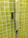 Ducha de cobre amarillo de la mano del cuarto de baño estándar australiano (Arb010)