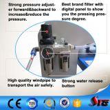 Máquina doble neumática del traspaso térmico de la estación del certificado del CE de la alta calidad