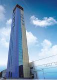 ascenseur résidentiel de Roomless de la machine 1250kg avec sans engrenages