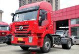 최신 Genlyon M100 편평하 지붕 340HP 트랙터 트럭