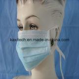 3 Falte-nichtgewebte medizinische Wegwerfgesichtsmaske mit Ohr-Schleife