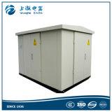 sous-station compacte électrique de transformateur de kiosque de 15kv 630kVA