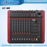 Hoge Prestaties Teyun die kt-M8 300W de Reeks van de Mixer van de Console mengen