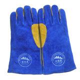 Перчатки заварки безопасности индустрии высокого качества работая кожаный