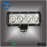 Lumière tous terrains de 7.3 de pouce mini d'éclairage LED de la barre 40W doubles lumens élevés de la rangée DEL