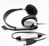 Новые модные наушники VoIP на наушнике уха с Mic