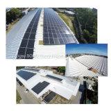 Kristallener Silikon PV-Baugruppen-monoSonnenkollektor-grüne Energie