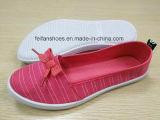 最も新しい高品質の女性のズック靴FF727-7