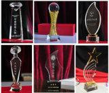 Concesiones al por mayor del vidrio, trofeo cristalino del comienzo de los regalos del asunto del trofeo