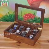 Caixa de relógio de madeira da alta qualidade