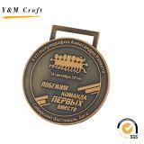 ロゴ(Q09546)の高品質によってカスタマイズされる金属メダル