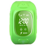 Quadrato Band GPS Kids Tracker Watch con il Due-modo Talking e SOS Button Wt50-Ez