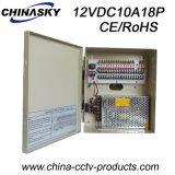 18의 사진기 (12VDC10A18P)를 위한 12VDC 10AMP CCTV 전력 공급