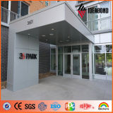 Goldene metallische PVDF externe Wand-Aluminiumfassadenelement (AF-401)