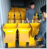 Máquina de fatura de tijolo manual Qmr2-40 apropriada para a empresa de pequeno porte em África