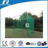 rete quadrata di golf di 3X3X3m (HT-GN-02), rete di Practic di golf, rete d'addestramento, HDPE/PP/Polyester/Nylon