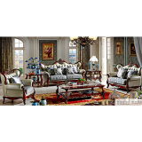 Il sofà del tessuto per la mobilia del salone ha impostato (510C)
