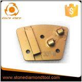 PCD 사다리꼴 에폭시 제거 금속에 의하여 접착되는 가는 디스크