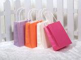 Le produit de beauté promotionnel de achat estampé de cadeau portent le sac de papier