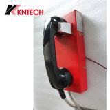 Enjuague de seguridad Teléfono / Montaje en la pared Knzd-14 automática Dail de Emergencia Intercom Teléfono