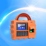 De Prikklok van de Vingerafdruk GPRS met de Lezer van het Identiteitskaart (TFT500P/GPRS)