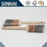 Brosse à peinture bon marché avec fourrure plaquée de cuivre
