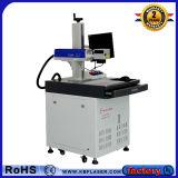 máquina padrão da marcação do laser da tabela da fibra do metal da bancada da liga de alumínio de 20With 30W FDA