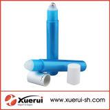 frascos plásticos do Roll-on 15ml com esfera de metal
