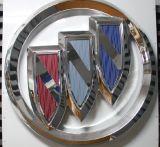 Rotes Auto-Selbstfirmenzeichen-Abzeichen-Licht-Emblem-Auto-Firmenzeichen LED-3D