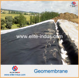 Glanzend Polyethyleen Één ZijZwarte Één Zij Groene HDPE Geomembrane