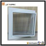 Gril en aluminium de caisse d'oeufs de qualité pour la climatisation