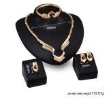 Conjuntos Wedding del pendiente del collar de la promoción de los conjuntos de los accesorios (C-XSST0040)
