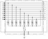 Prendedor coaxial X08-D15 do impulso de relâmpago de /Signal do protetor de impulso da proteção do impulso