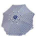 칭찬을%s 가진 유행 바닷가 폴리에스테 닫집 우산은 부대를 전송한다
